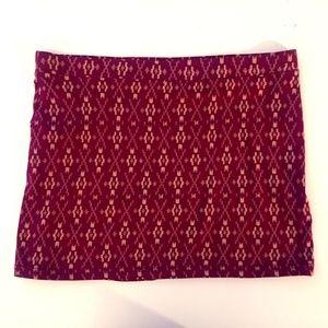 70's Inspired Mini Skirt